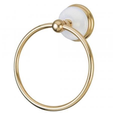 Kingston Brass BA1114PB Victorian Towel Ring, Polished Brass