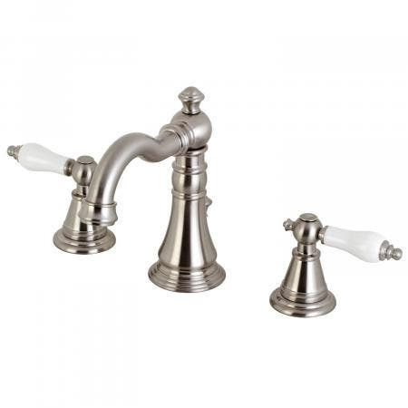 Fauceture FSC1978PL English Classic Widespread Bathroom Faucet, Brushed Nickel