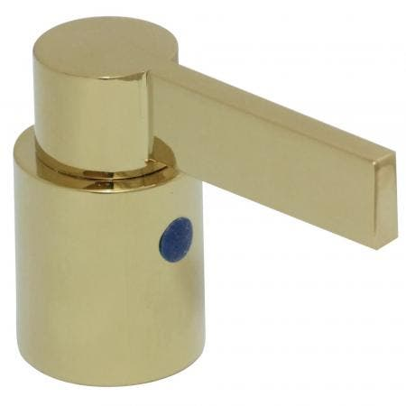 Kingston Brass KBH8662NDLC Nuvofusion Cold Handle, Polished Brass