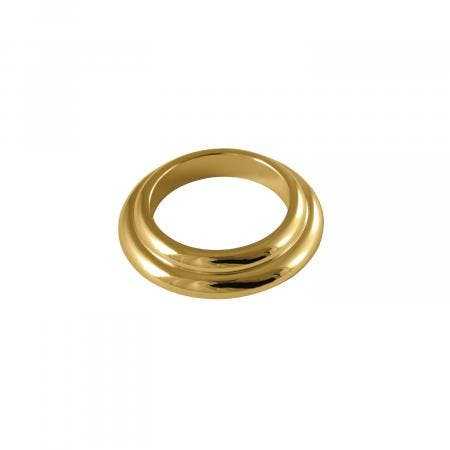 Kingston Brass KBSF912 Spout Flange For Kb912, Polished Brass