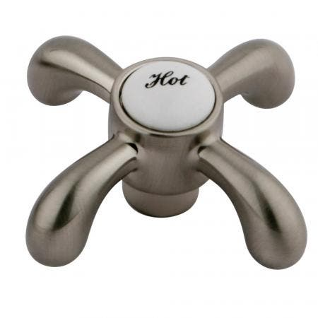 Kingston Brass KSH7988TXH Hot Handle For Ks7988 & Ks7168Tx, Satin Nickel