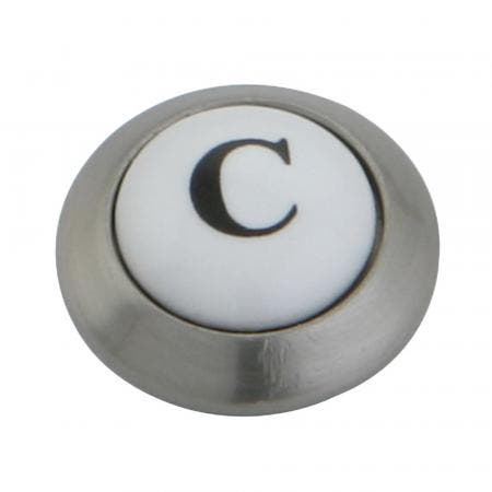 Kingston Brass KSHI3608AXC Cold Button For Ks3608Ax, Satin Nickel