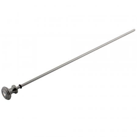 Kingston Brass KSPR1978WLL Kingston Brass KSPR1978WLL Wilshire Pop-Up Rod,  Satin Nickel