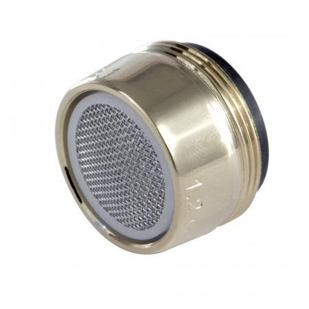 Kingston Brass Z12KBSA952 Cal Green 1.2 GPM Male Aerator, Polished Brass