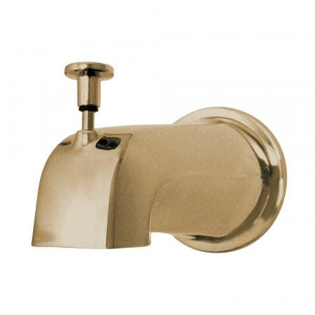 """Kingston Brass K188E2 Diverter Tub Spout with Flange and 1/2"""" IPS"""