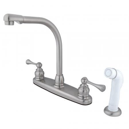 Kingston Brass KB951PL Kingston Brass KB951PL Mini Widespread Lavatory Faucet and Retail Pop-Up, Chrome