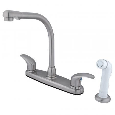 Kingston Brass KB951PX Kingston Brass KB951PX Mini Widespread Lavatory Faucet and Retail Pop-Up, Chrome