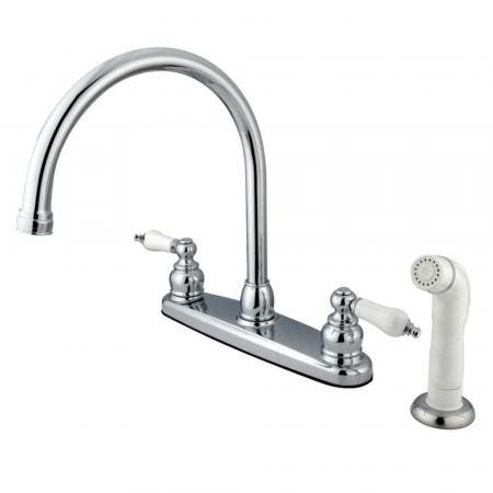 Kingston Brass KB952ALL Kingston Brass KB952ALL Mini Widespread Lavatory Faucet and Retail Pop-Up, Polished Brass
