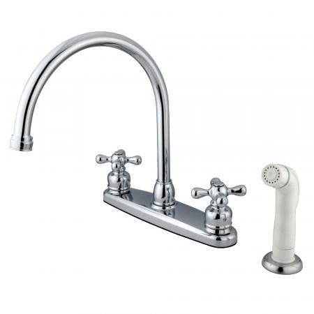 Kingston Brass KB952LL Kingston Brass KB952LL Mini Widespread Lavatory Faucet and Retail Pop-Up, Polished Brass