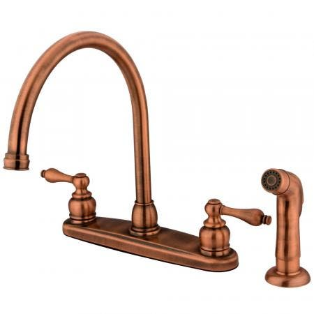 """Kingston Brass KB959 Two Handle 4"""" to 8"""" Mini Widespread bathroom Faucet with Retail Pop"""