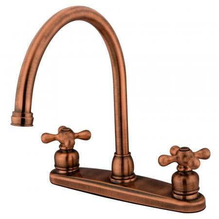 "Kingston Brass KB961ALL LEGACY Two Handle 4"" to 8"" Mini Widespread bathroom Faucet with Retail Pop"