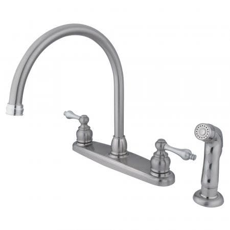 """Kingston Brass KB961PL VICTORIAN Two Handle 4"""" to 8"""" Mini Widespread bathroom Faucet with Retail Pop"""