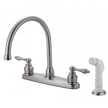 Kingston Brass KB962ALL Widespread Lavatory Faucet, Polished Brass