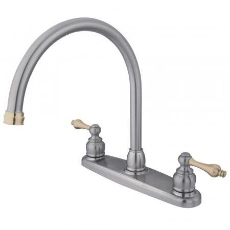 Kingston Brass KB965ALL Widespread Lavatory Faucet, Oil Rubbed Bronze