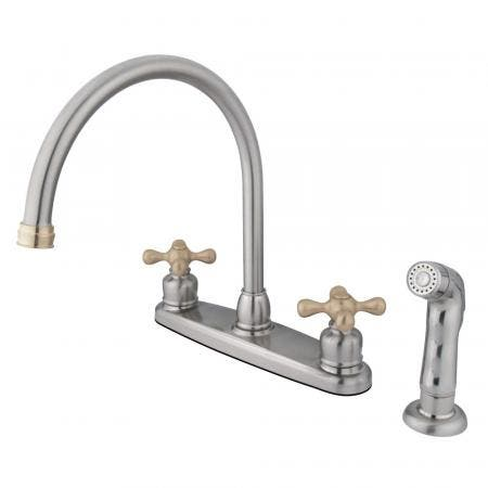 Kingston Brass KB965KL KNIGHT Widespread bathroom Faucet with 50/50 Pop