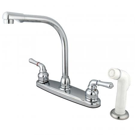 Kingston Brass KB965PX Widespread Lavatory Faucet, Oil Rubbed Bronze