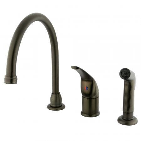 Kingston Brass KS1161GL Kingston Brass KS1161GL Widespread Lavatory Faucet with Handle, Chrome