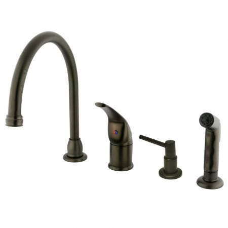 Kingston Brass KS1161TL Kingston Brass KS1161TL Widespread Lavatory Faucet with Handle, Chrome