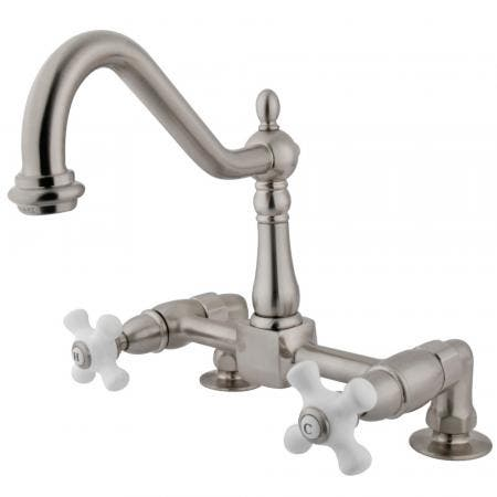 "Kingston Brass KS4262HX 4"" CENTER bathroom Faucet, Polished Brasswith POP"