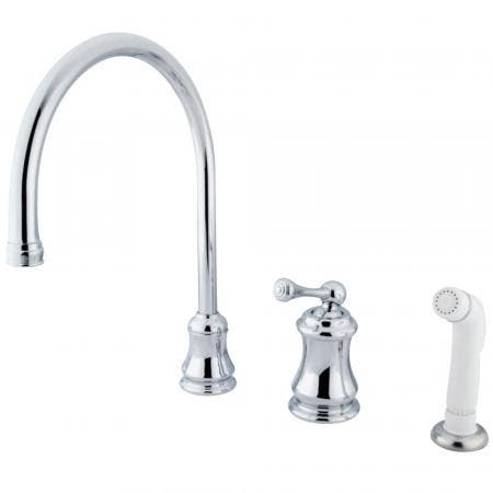 Kingston Brass KB2635KL Naples Tub & Shower Faucet
