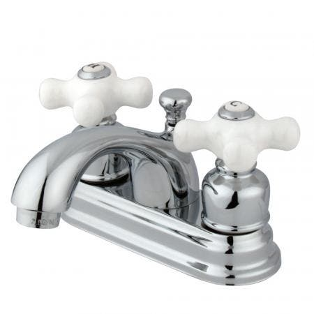 Kingston Brass KS1238PLBS Heritage single post two handles kitchen faucet with metal side sprayer