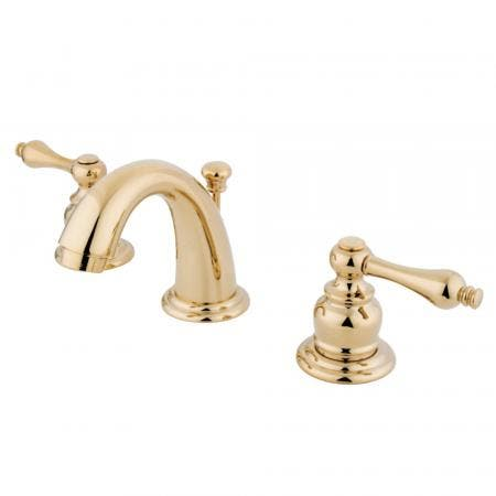 "Kingston Brass KS2618AL Governor 4""centerset bathroom Faucet with Brass pop"