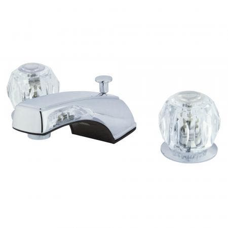 Kingston Brass KS2951DFL Kingston Brass KS2951DFL Mini Widespread Lavatory Faucet, Chrome