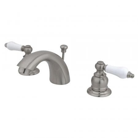 Kingston Brass KS2971NL NAPLES WIDESPREAD bathroom FAUCET, Polished Chrome