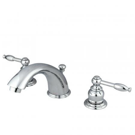 """Kingston Brass KS2972PL Two Handle 8"""" to 16"""" Widespread bathroom Faucet with Brass Pop"""