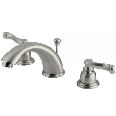 Kingston Brass KS2981PX GOVERNOR WIDESPREAD bathroom Faucet with Brass POP