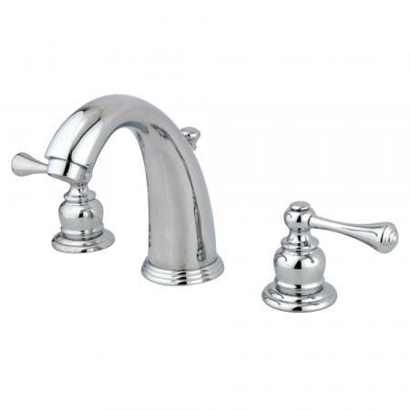 Kingston Brass KS2982PX GOVERNOR WIDESPREAD bathroom Faucet with Brass POP