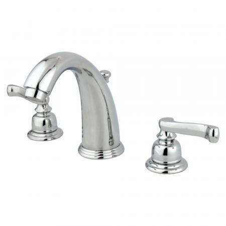 Kingston Brass KS2982TL TUSCANY WIDESPREAD bathroom Faucet with Brass POP