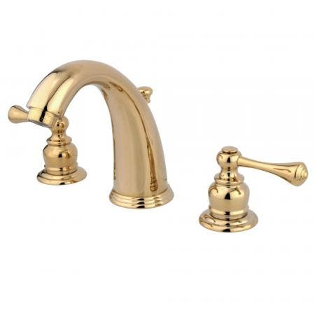 Kingston Brass KS2985PL GOVERNOR WIDESPREAD bathroom Faucet with Brass POP