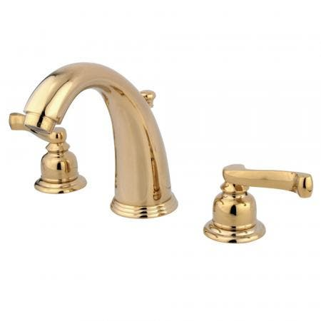 Kingston Brass KS2985PX GOVERNOR WIDESPREAD bathroom Faucet with Brass POP