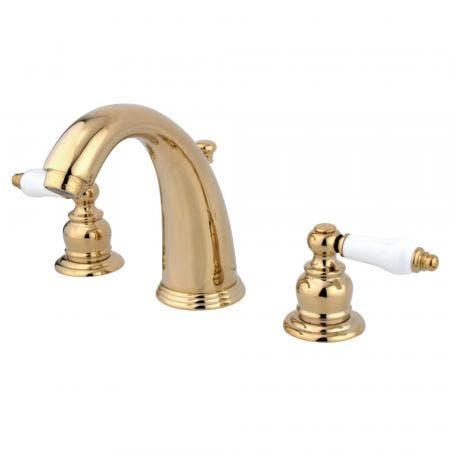 Kingston Brass KS2988AX Kingston Brass KS2988AX Widespread Lavatory Faucet with Brass Pop-Up, Satin Nickel