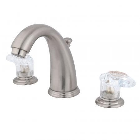Kingston Brass KS3165AL Country Widespread bathroom Faucet with Brass Pop