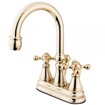 Kingston Brass KS8181DX Concord Vessel Sink Faucet without Drain, Chrome