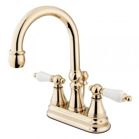 Kingston Brass KS8185DX Concord Vessel Sink Faucet without Drain, Oil Rubbed Bronze
