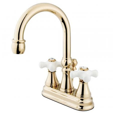 Kingston Brass KS8188DX Concord Vessel Sink Faucet without Drain, Satin Nickel