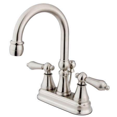 Kingston Brass KS8435CTL CONTINENTAL SINGLE HANDLE LAV FAUCET W/PUSH UP POP