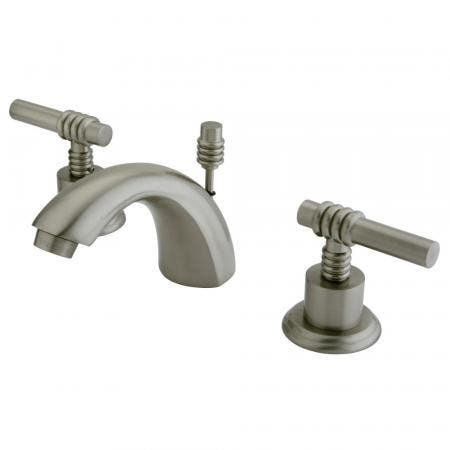 Kingston Brass KS9562RFL Kingston Brass KS9562RFL Widespread Lavatory Faucet with Rope French Lever Handle, Polished Brass