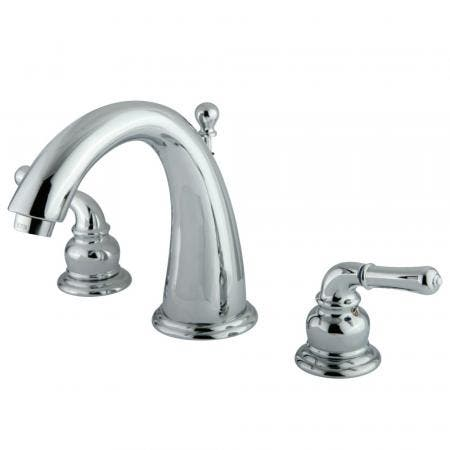 Kingston Brass KS9611DFL Kingston Brass KS9611DFL 4-Inch Centerset Lavatory Faucet with Brass Pop-Up, Chrome