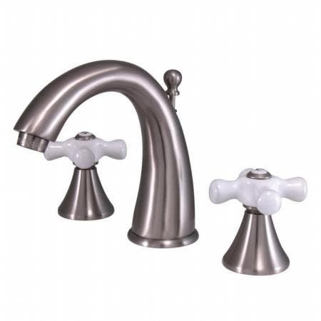 Kingston Brass CC2007T5 Kingston Brass CC2007T5 Deck Mount Leg Tub Filler with Hand Shower Adjustable 3-3/8 Inch to 10-Inch, Oil Rubbed Bronze