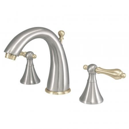 Kingston Brass CC2008T1 Kingston Brass CC2008T1 Deck Mount Leg Tub Filler with Hand Shower Adjustable 3-3/8 Inch to 10-Inch, Chrome