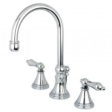 Kingston Brass CC2009T5 Kingston Brass CC2009T5 Deck Mount Leg Tub Filler with Hand Shower Adjustable 3-3/8 Inch to 10-Inch, Oil Rubbed Bronze