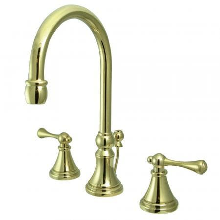 Kingston Brass CC2661 wall mount tub filler with shower faucet body part
