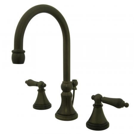 Kingston Brass CC57T455MX Kingston Brass CC57T455MX Free-Standing Clawfoot Tub Filler with Hand Shower, Oil Rubbed Bronze