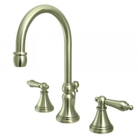Kingston Brass GKB531L TUB and SHOWER Faucet With Single LEVER Handle, Polished Chrome