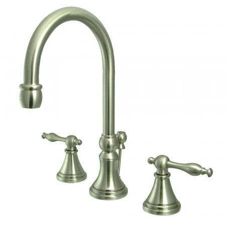 Kingston Brass KB140 Kingston Brass KB140 Twin Canopy Handle Tub and Shower Faucet, Chrome