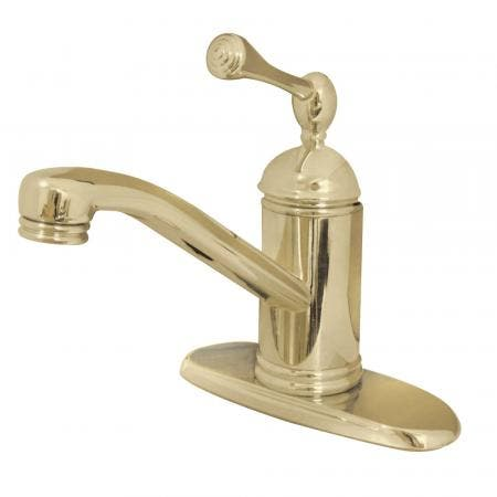 Kingston Brass KB2631WCL Kingston Brass KB2631WCL Celebrity Tub & Shower Faucet with Octagonal Crystal Knob, Chrome
